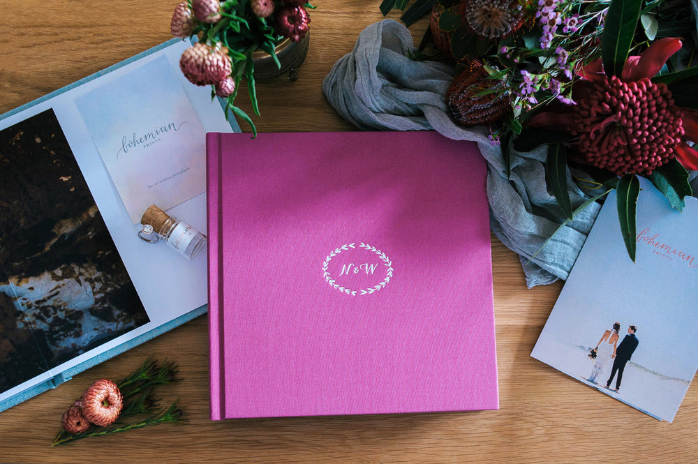 Bohemian Prints Wedding Album 1