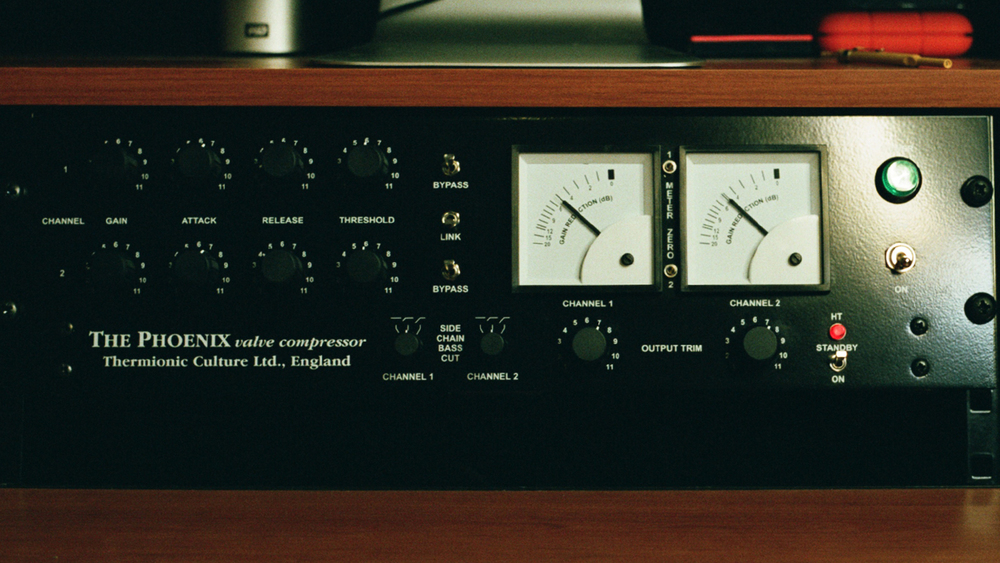 The Thermionic Culture Phoenix. Possibly the finest Vari MU compressor known to mankind, hand-built just outside London.