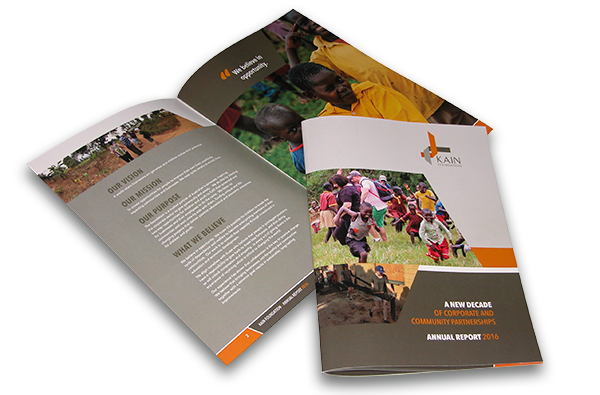 Annual report - charitable foundation