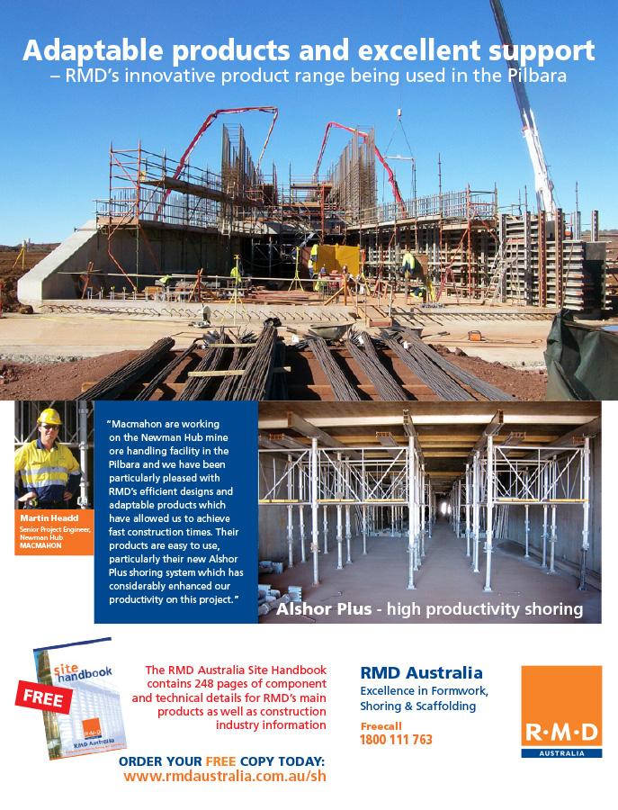 Full page magazine advertisement