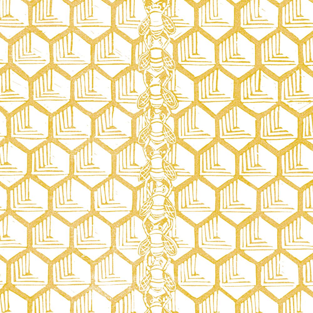 'Festooning Bees'