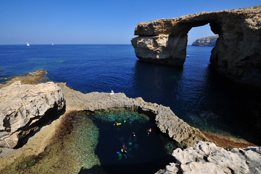 Photo Credit: Ted Attard  The Azure window is now Azure nothing.
