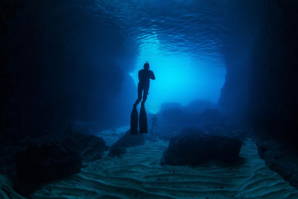 Santa Maria Caves, Comino, Malta
