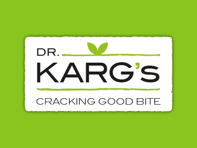 "DR. KARG'S  Dr. Karg's crispbread is honest, authentic food, promising a special ""cracking good bite"". Whether at home, in the office, at school or while studying - Dr. Karg's products offer the best crunch for every occasion."