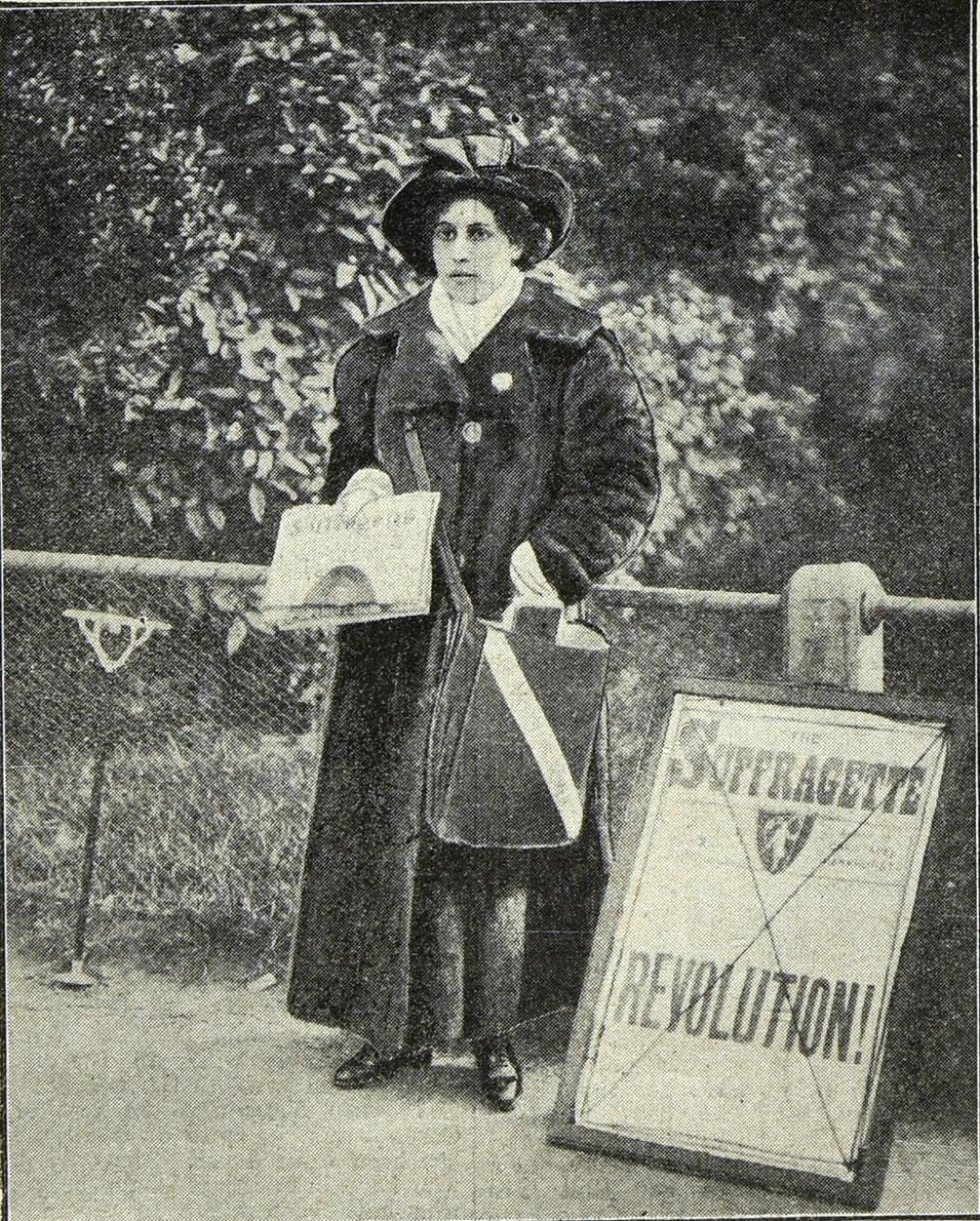 Source: The Suffragette, Copyright WSPU, courtesy of National Archives