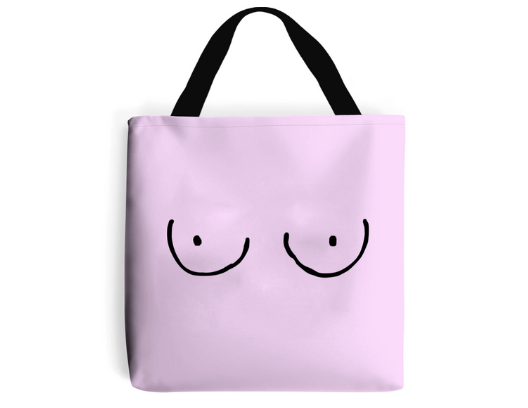 Free the Nipple Feminist Tote Bag by The Spark Company.png