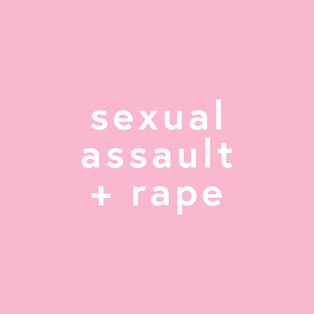Sexual Assault & Rape Resources