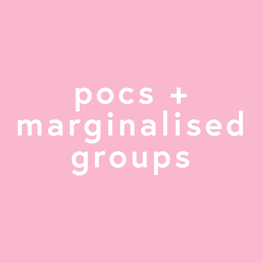 POC and Marginalised Groups Resources