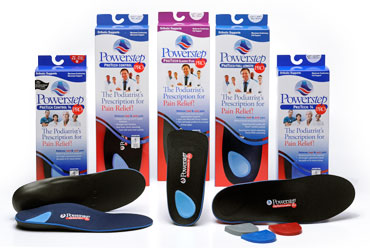 We feature plenty of arch support products for  any type of shoe or foot. Custom and in stock.