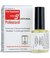 Use Formula 3 on your nails just twice a day and watch the fungus disappear.