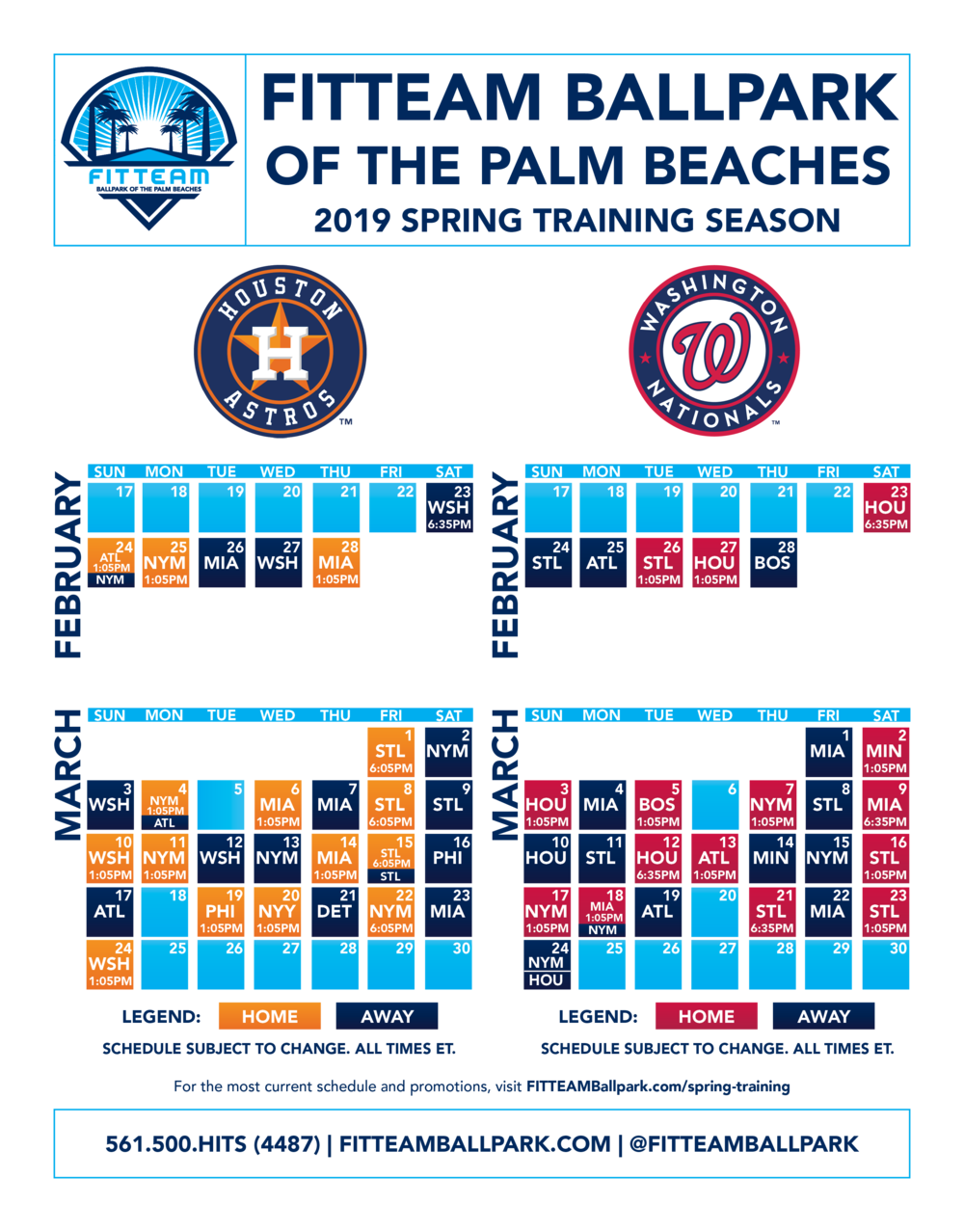 Fitteam 2018 Spring Training Schedule Updated 09-25-18.jpg