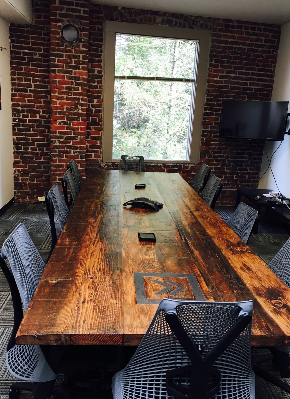Reclaimed Barn Wood Conference Table