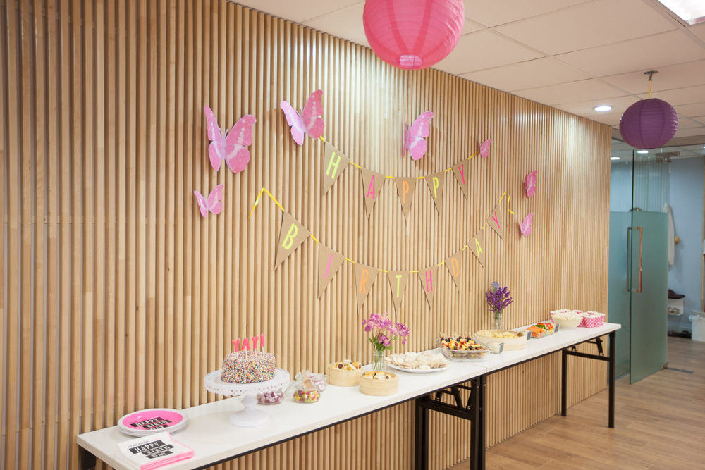 Pink and Purple Butterfly Party