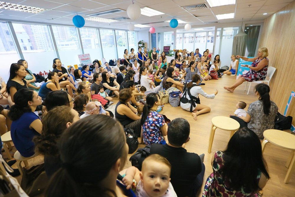 Copy of Mulberry House Hosts Moms and Baby Nursing Seminar