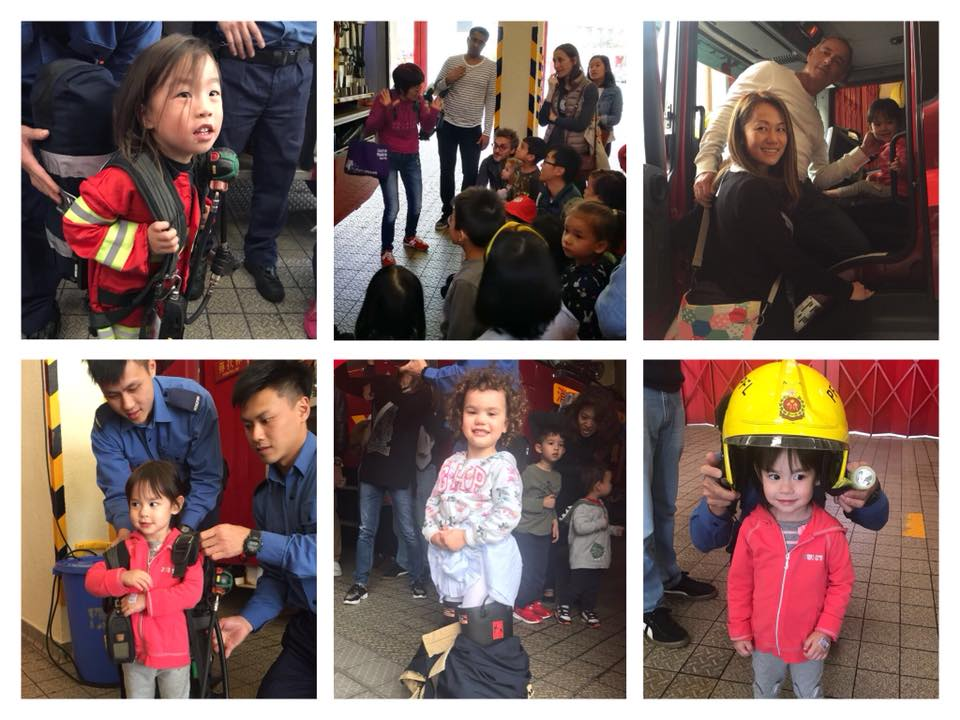 Mulberry House Students at Firestation Fieldtrips