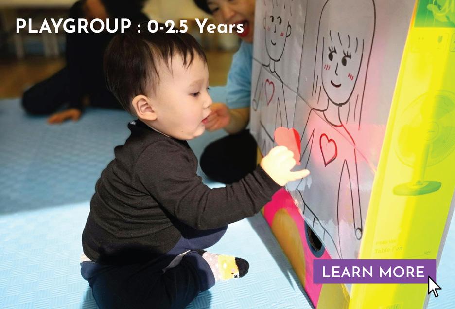 Playgroup — 0-2.5 years