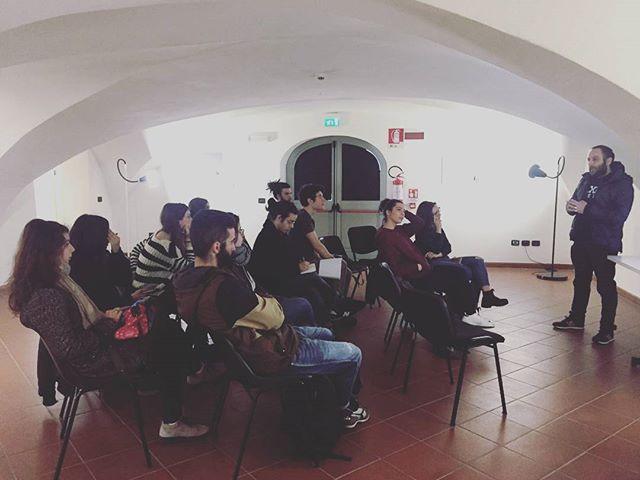 Presentazione workshop di Salvatore Esposito 18/19 febbraio 2017 #camerawork #PR2 #workshop #salvatoreesposito