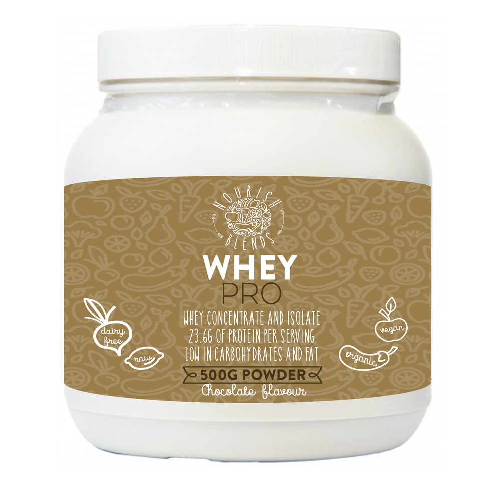 Whey Pro Chocolate Protein Powder