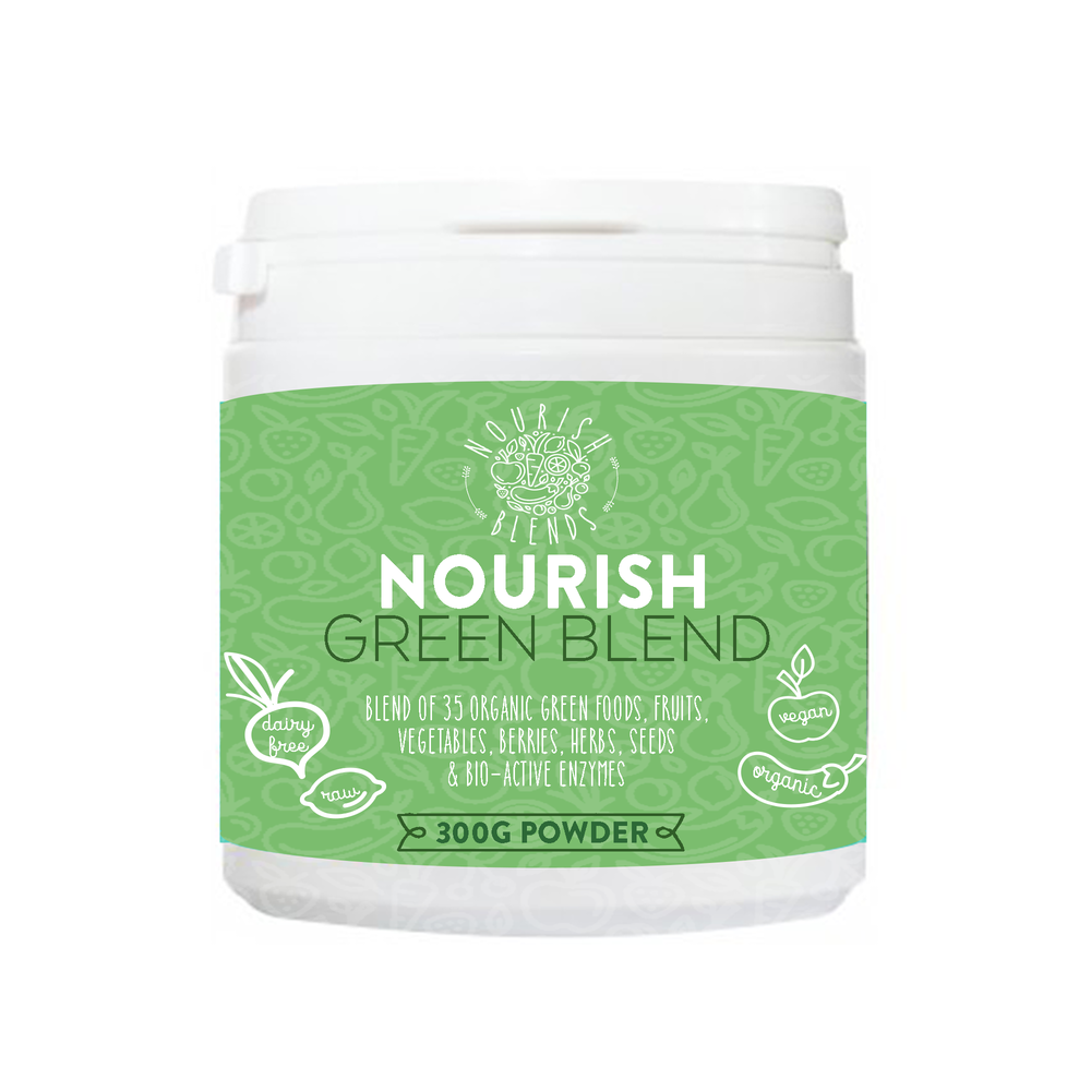 Copy of Copy of Nourish Green Blend (300g)