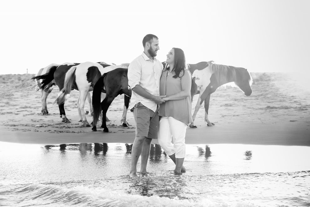 Engagement Photos in Assateague Island National Seashore, Maryland