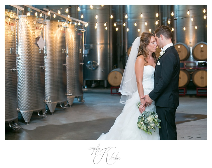 LaBelle Winery Wedding Photos in Wine Cellar.jpg