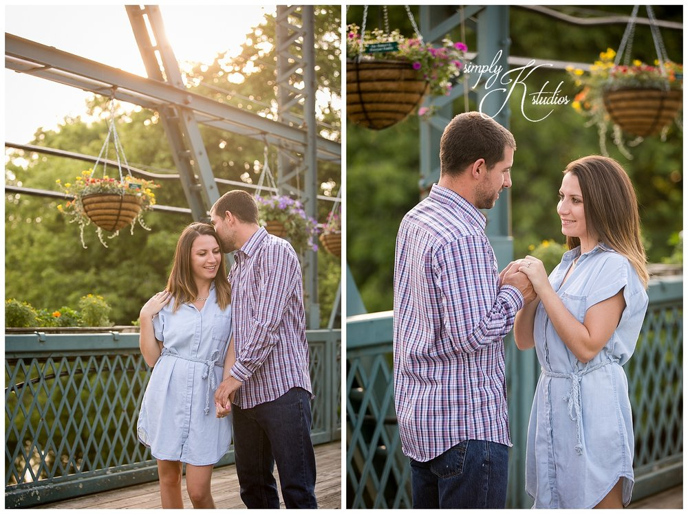 Simsbury CT Flower Bridge Engagement Photos.jpg