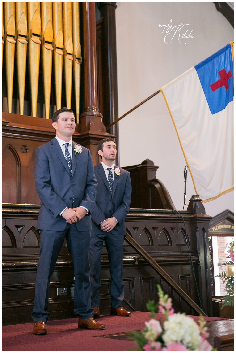 Wedding Ceremony at Pilgrim Congregational Church in Leominster.jpg