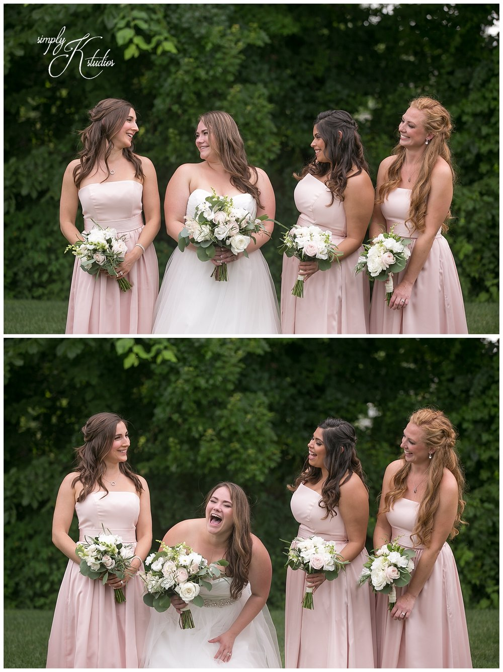 Blush Bridesmaids Dresses from Davids Bridal.jpg