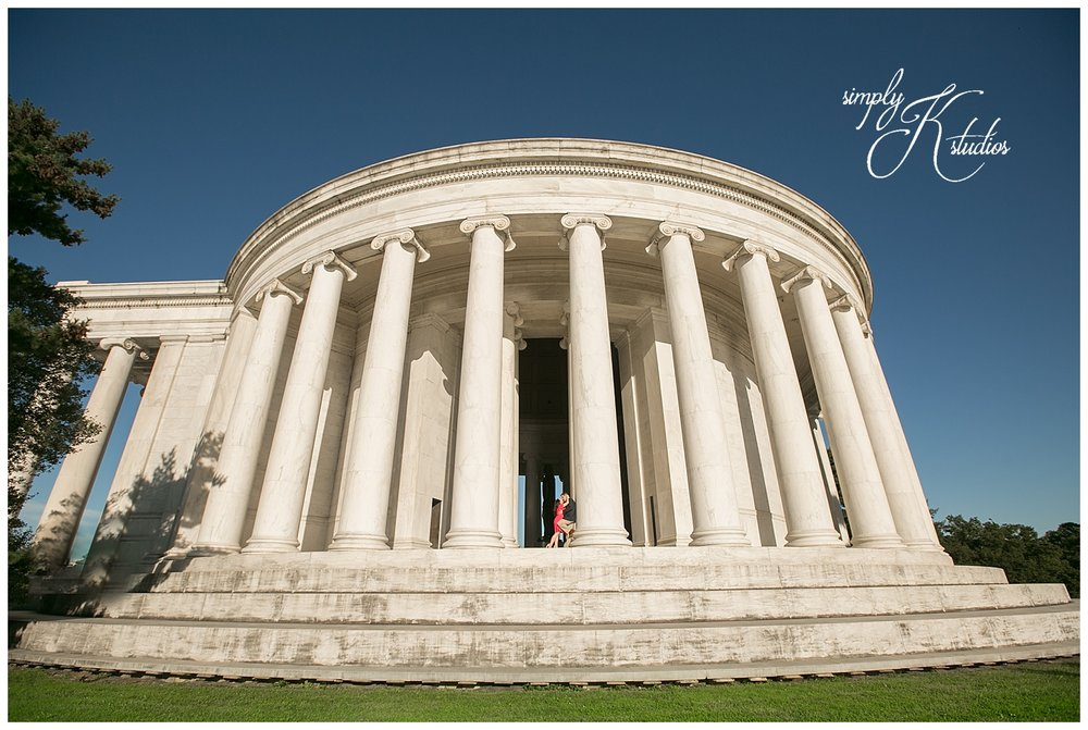 Engagement Photos at The Jefferson Memorial.jpg