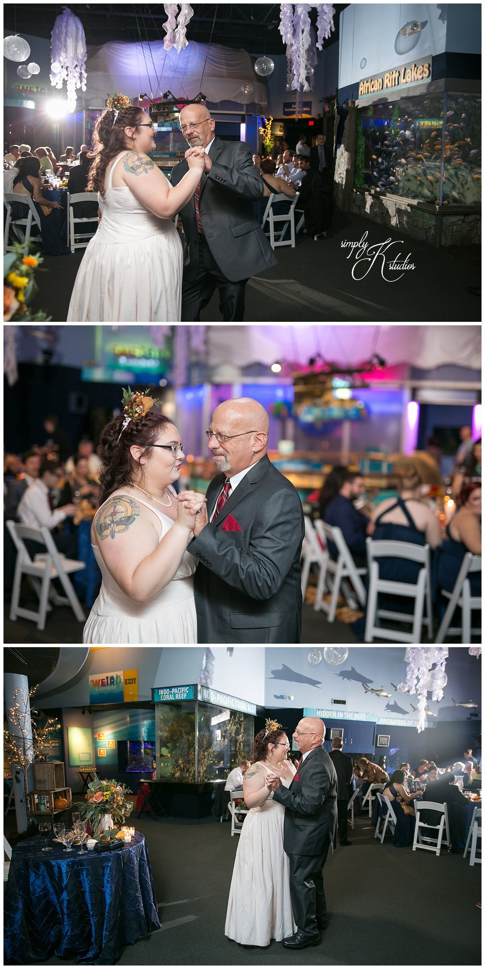 Reception dancing at Mystic Aquarium.jpg