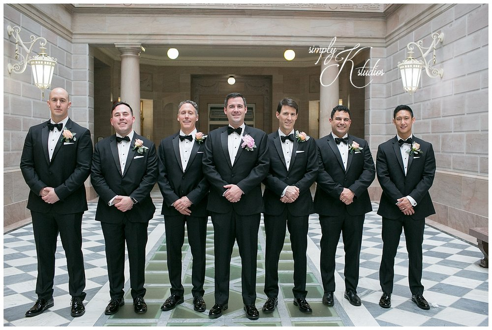 Groomsmen Wearing Tuxedos.jpg