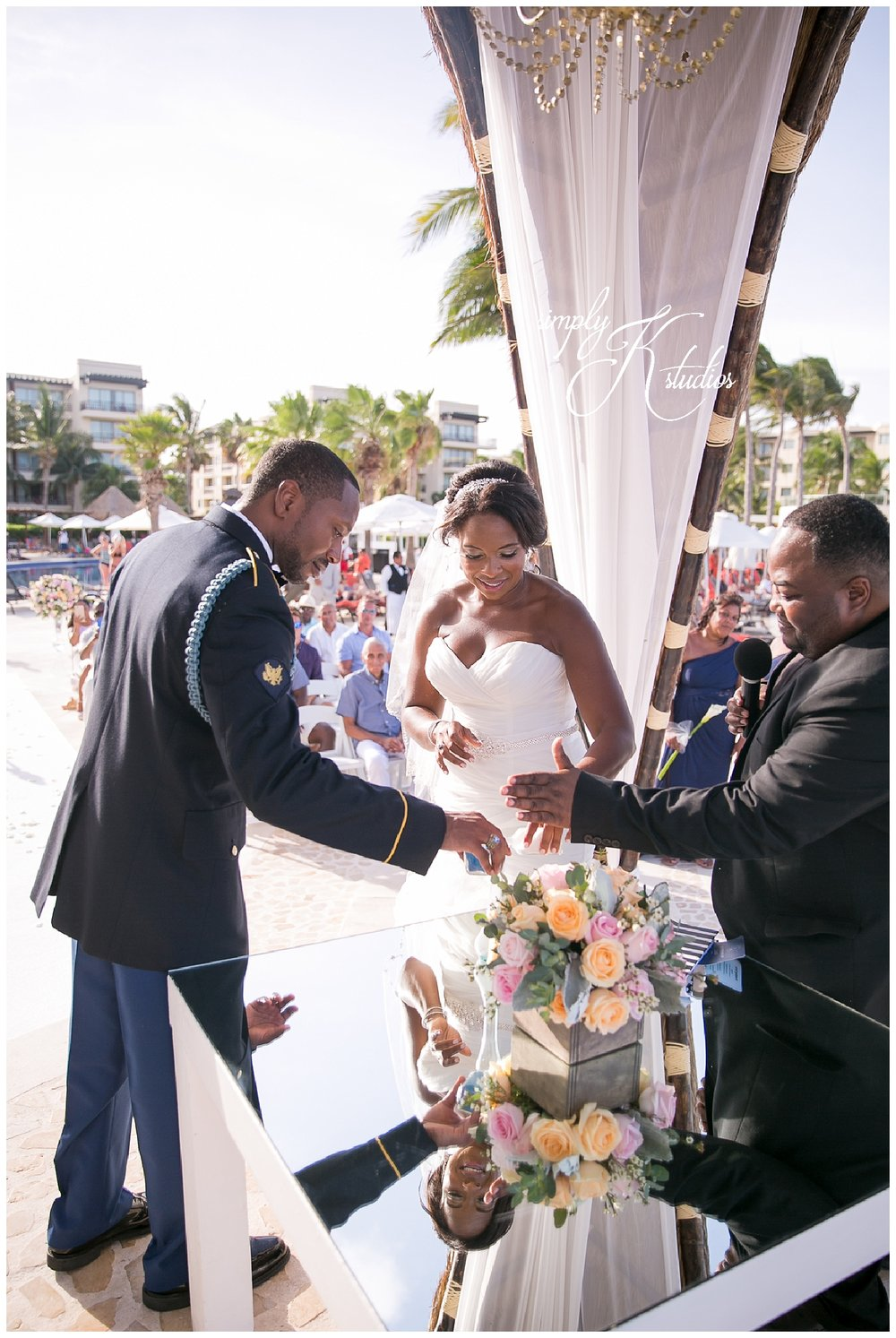 Beach Ceremony at Dreams Riviera Cancun.jpg