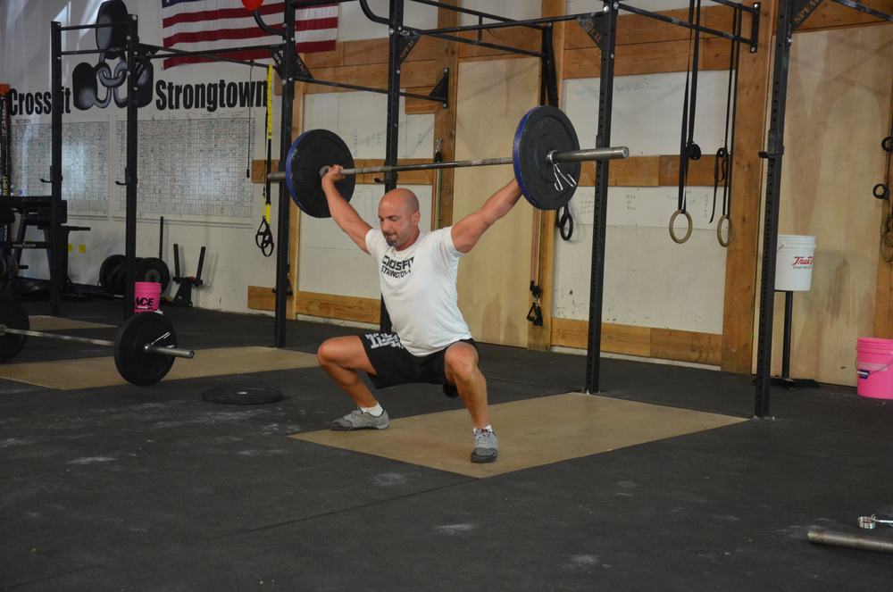 Shady going wide on his snatches.