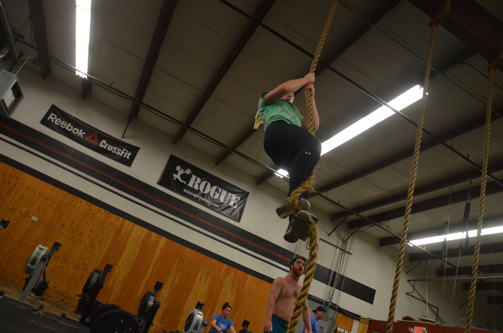 Congratulations to Annie on getting her first rope climbs.