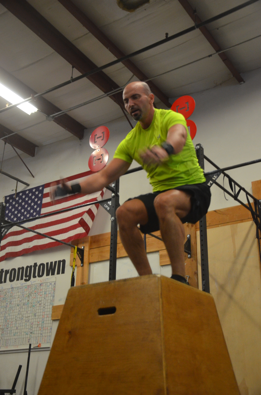 Shady flying through his box jumps