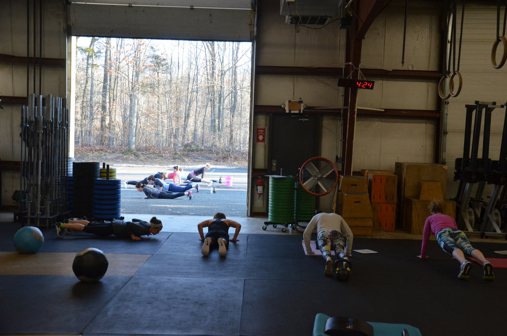 All ladies class today for the 4pm hour.