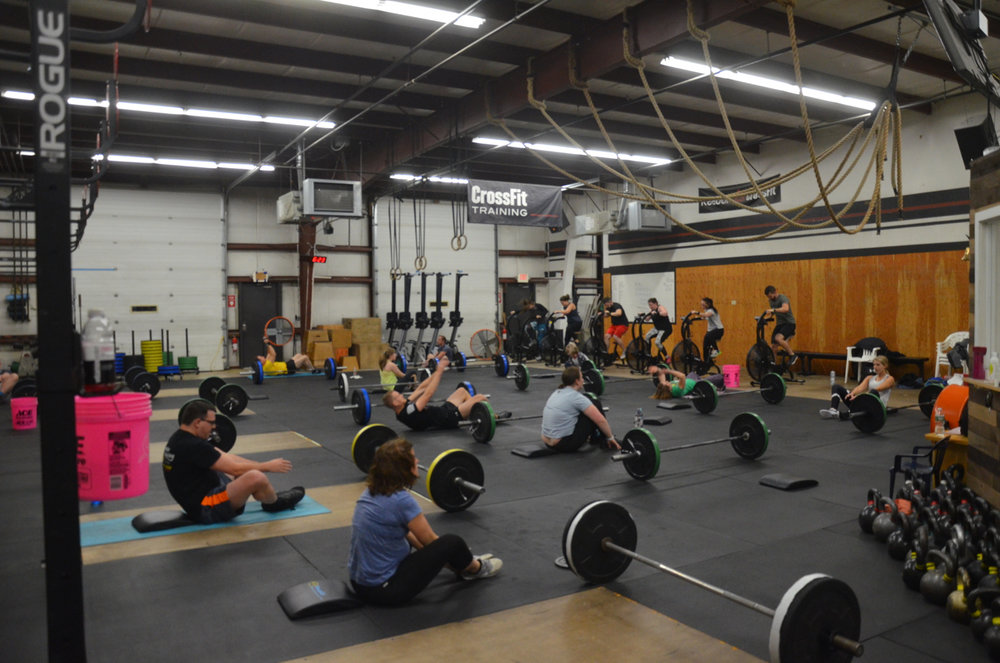 Packed house for the 6pm class tonight.