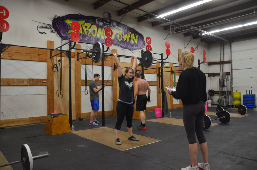 Becky fighting through her thrusters.