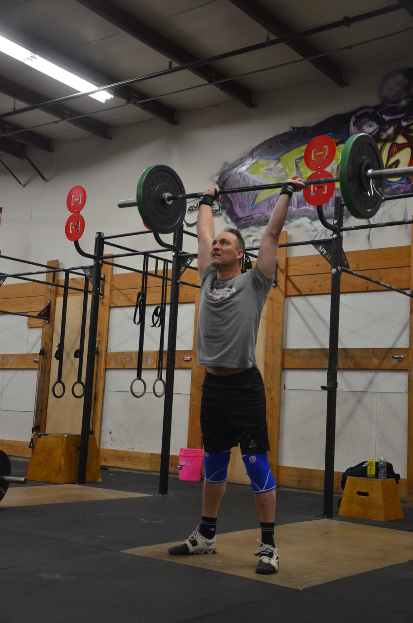 Funk making sure to lockout his thrusters.