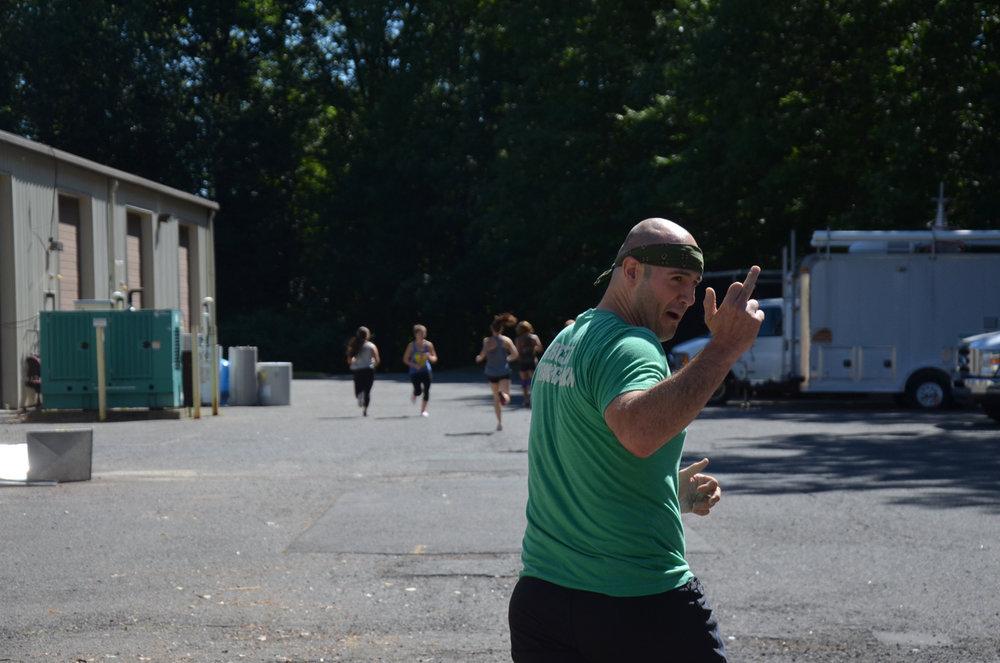 Jim really loves running...a lot.