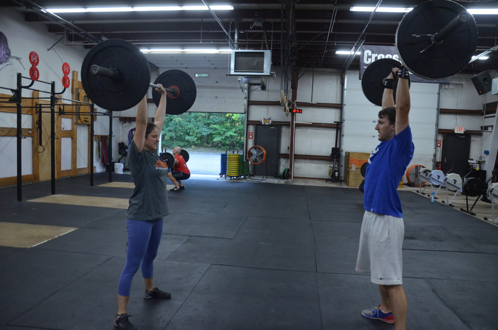 The couple that Thrusters together stays together.