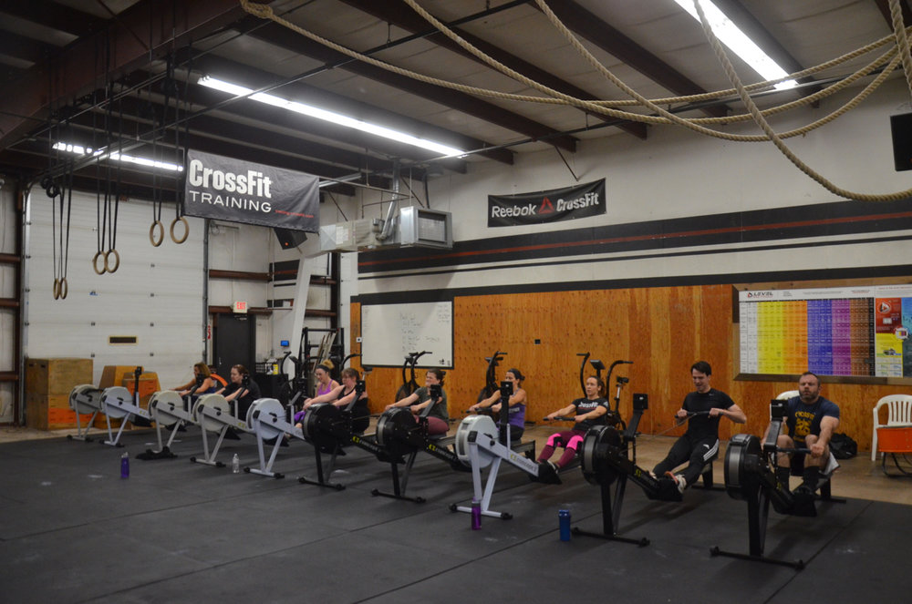 The 4pm class working hard for the Max Calories.