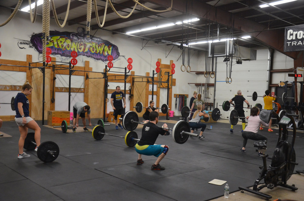 Packed house for the 5pm class.