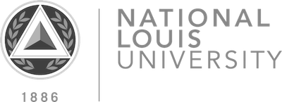 National Louis University BW.png
