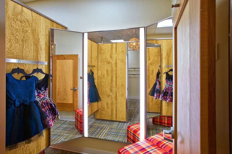 Nordstrom Fitting Room & LED Pivot Mirror