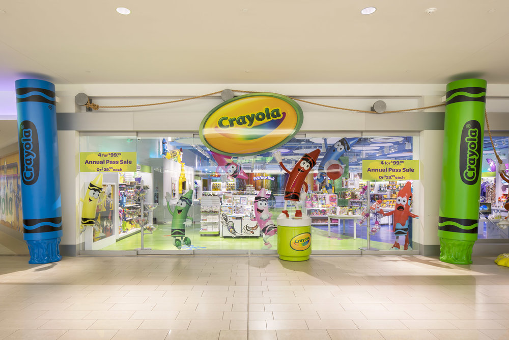 Crayola Experience, Mall of America