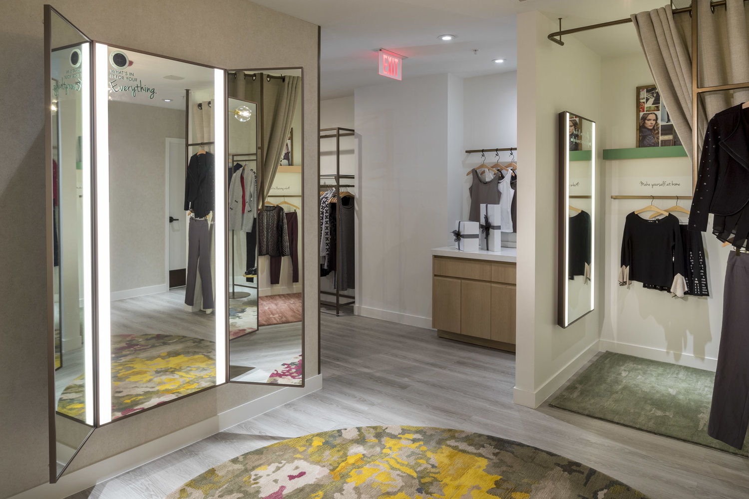 Stylmark Fitting Room And Led Mirrors