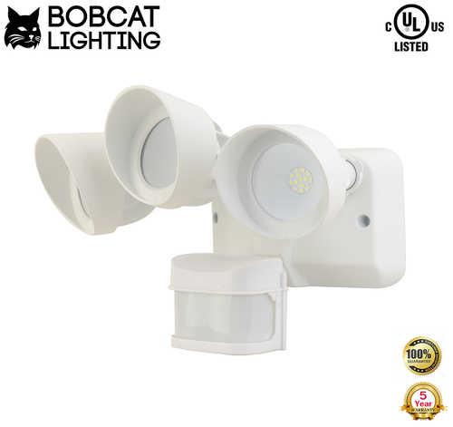 Led motion activated security light 3 head 36 watt 3000 lumens 121g mozeypictures Gallery