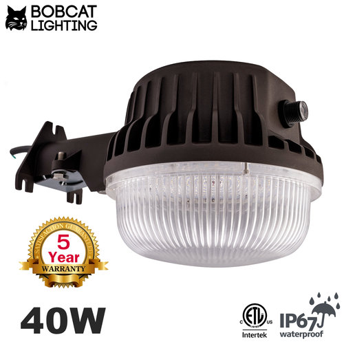 led area light - 40w (300w equivalent) - dusk to dawn photocell