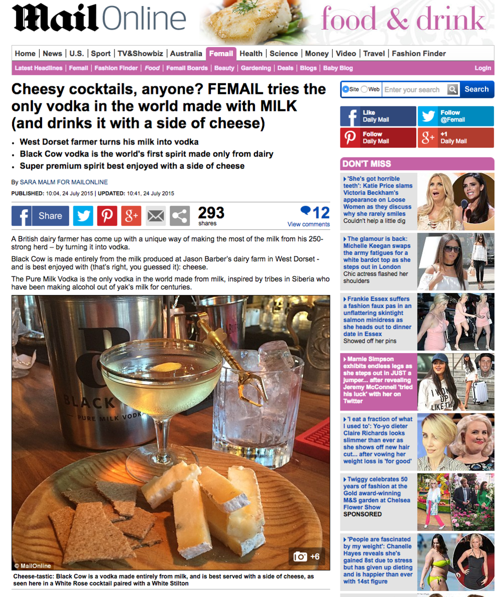 http://www.dailymail.co.uk/femail/food/article-3170867/FEMAIL-tries-vodka-world-MILK-drinks-cheese.html